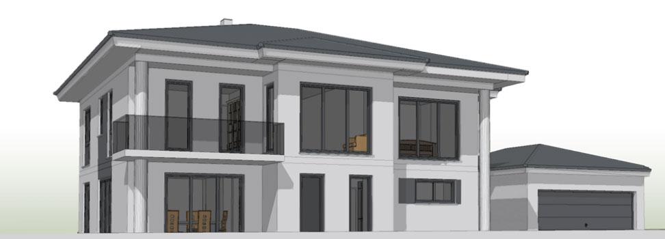 Moderne innentüren stadtvilla  Baustellenbesichtigung Neckargemünd - jetzthaus