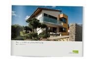Architektenhaus mit Flachdach - Baubeschreibung