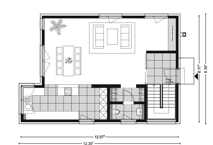 Architektenhaus Mit Pultdach Jetzthaus Das Massivhaus Mit System